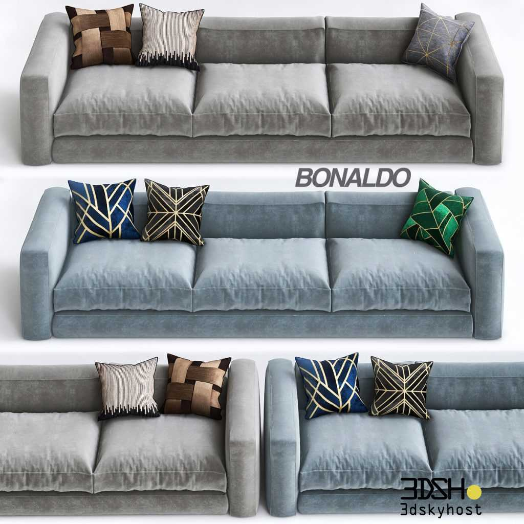 3dSkyHost: 3D Model Bonaldo Sofa 94 Free Download