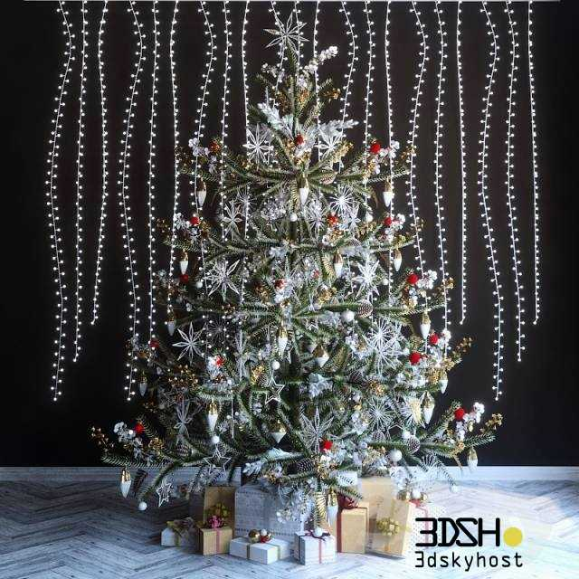 3dSkyHost: Christmas Decor 6 3dmodel Free Download