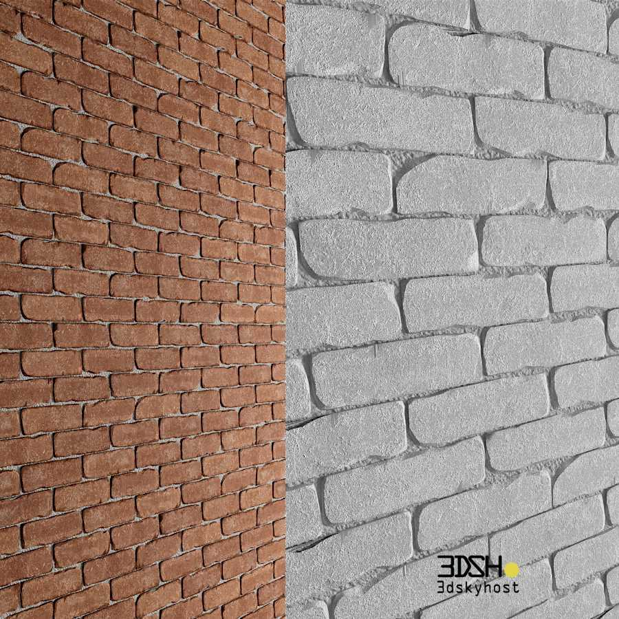 3D Model 3D Brick Walls free download