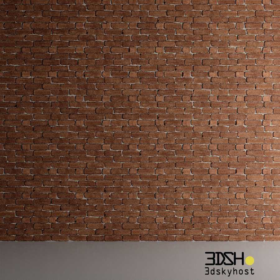 3dSkyHost: 3D Model 3D Brick Walls free download