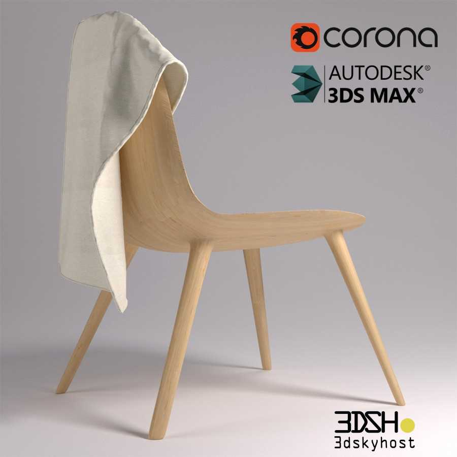 3dSkyHost: 3d model Wooden Chair free download