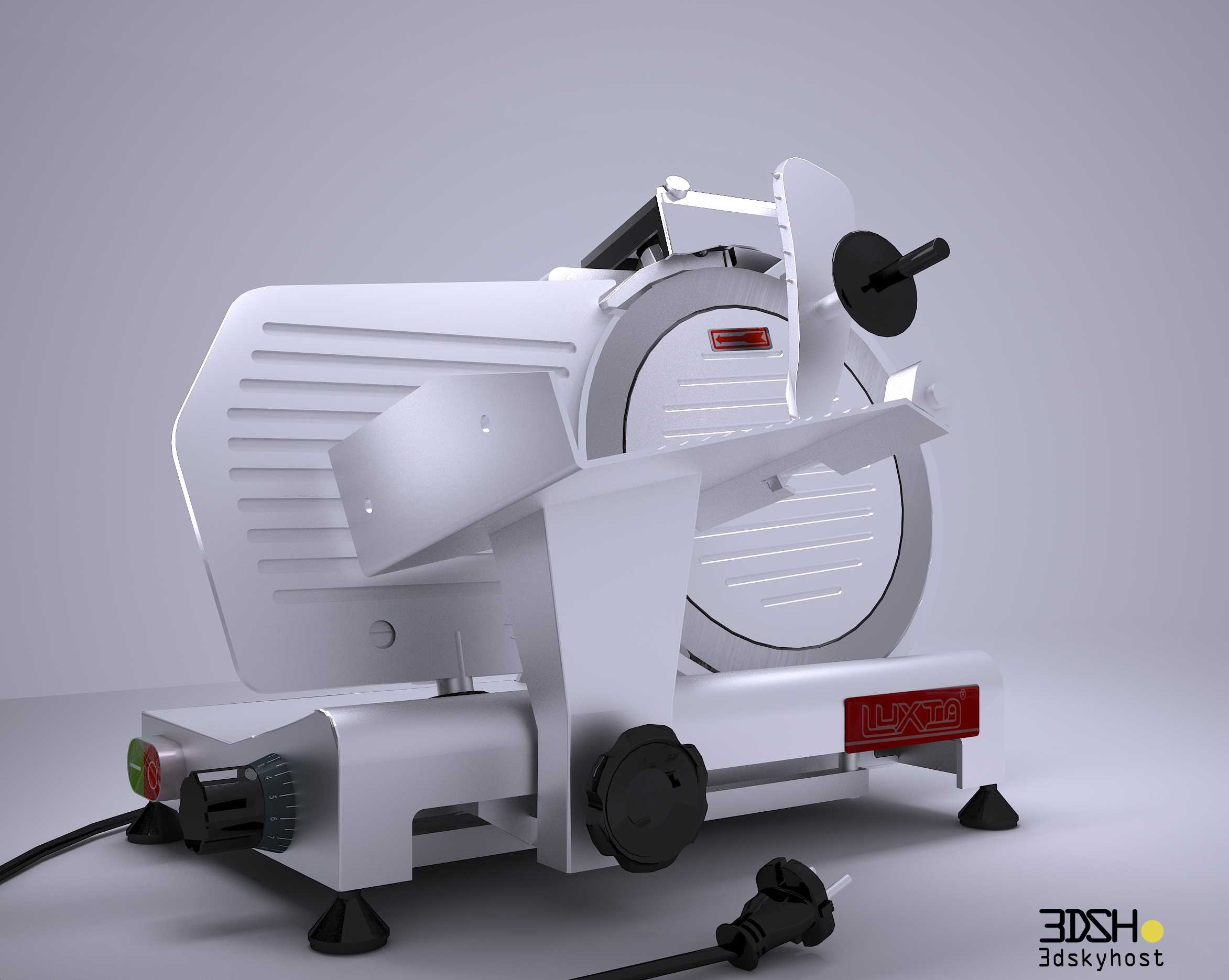 3dSkyHost: 3d model SLICING MACHINE-INDUSTRY free download