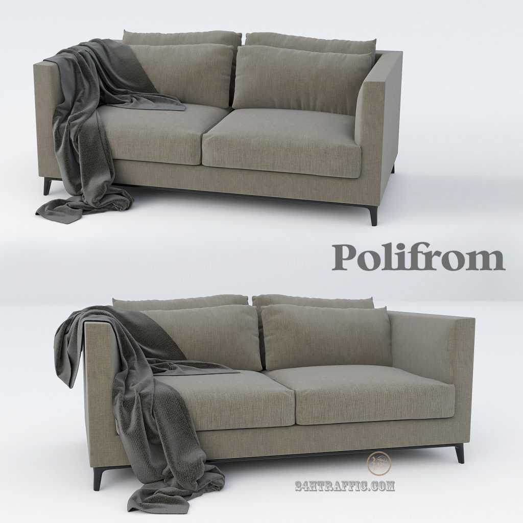 3dSkyHost: Sofa 3D Model polifrom 02 Free Download