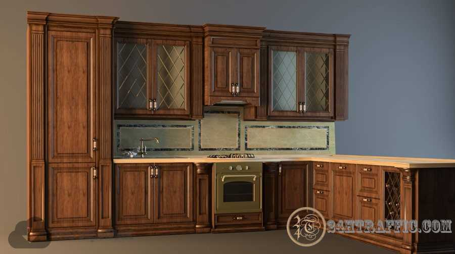 3dSkyHost: 3d Kitchen model 45 free download