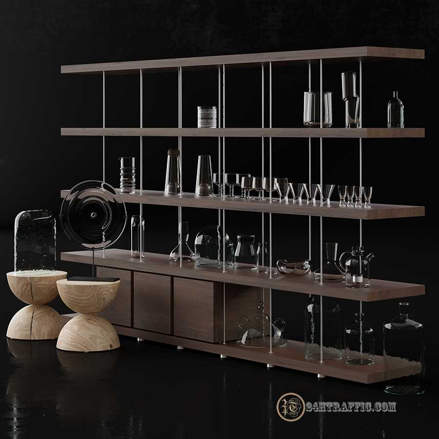 3dSkyHost: 3D Model Kitchen 115 Free Dowload