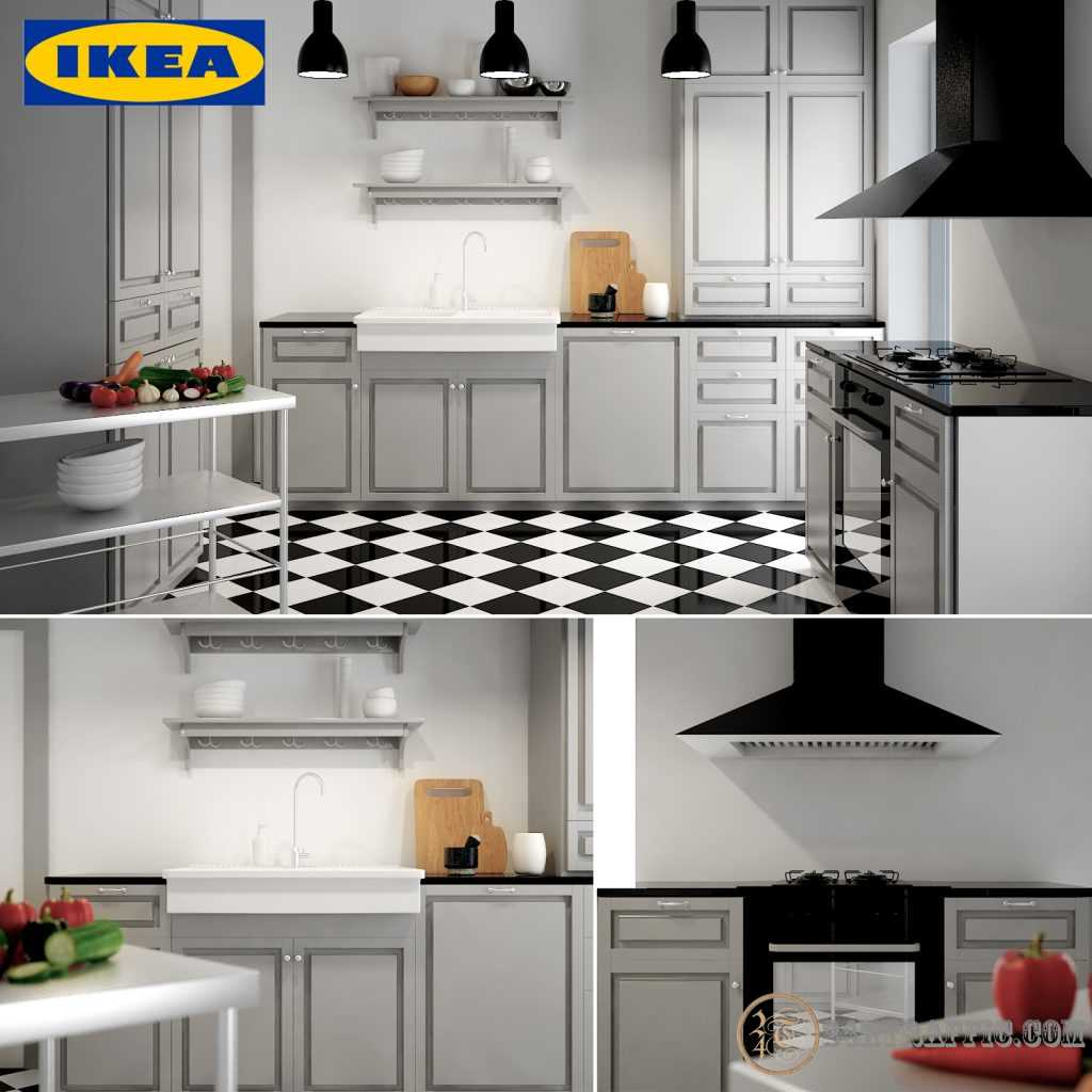 3dSkyHost: 3d Kitchen model 5 free download