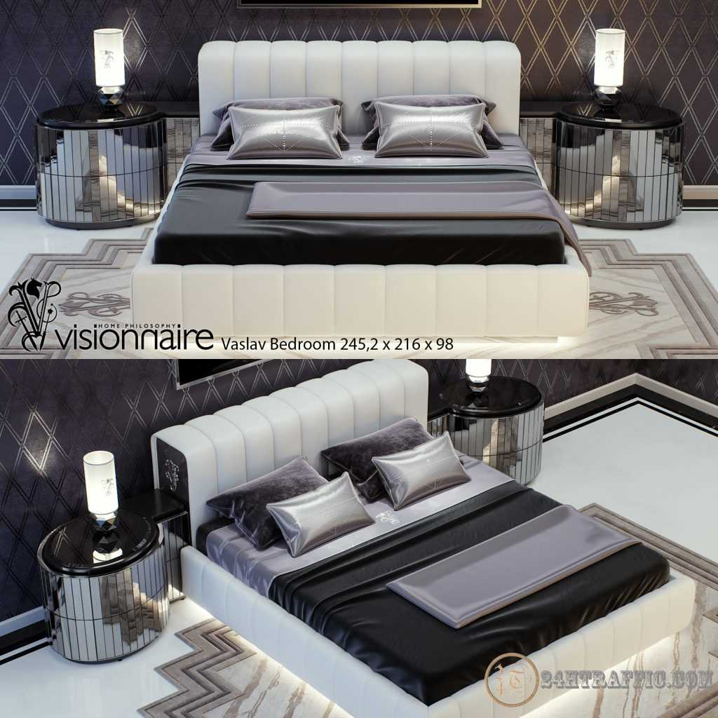 3dSkyHost: 3D Bed Model 44 Free Download