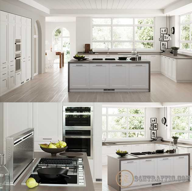 3dSkyHost: 3D Model Scavolini Kitchen 93 Free Dowload