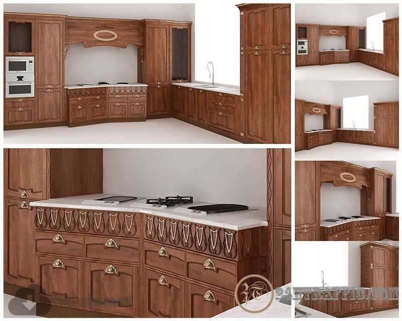 3dSkyHost: 3d Kitchen model 52 free download