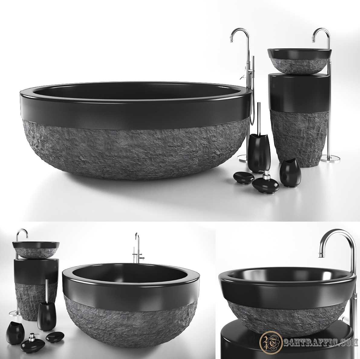 3dSkyHost: 3D Models Wash Basin 230 Free Download
