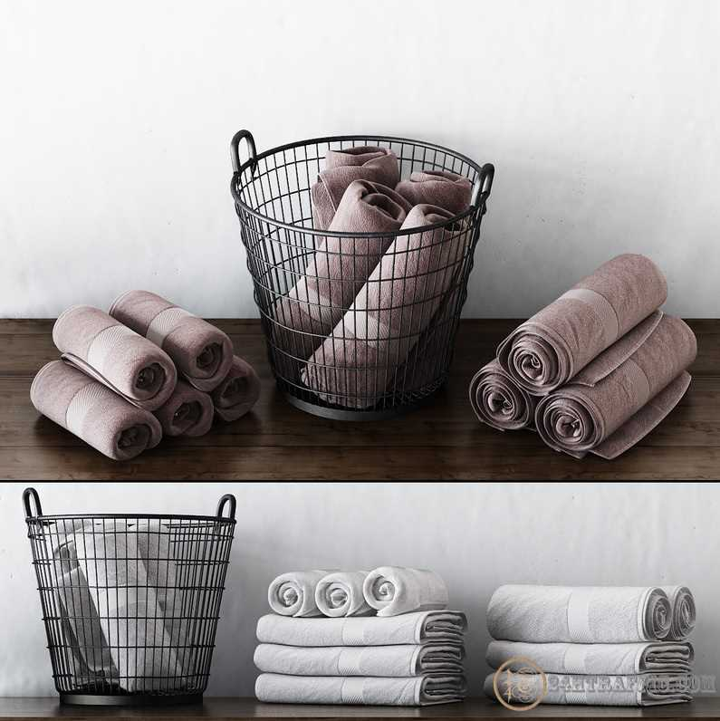 3dSkyHost: 3D Models Towel Collection 52 Free Download