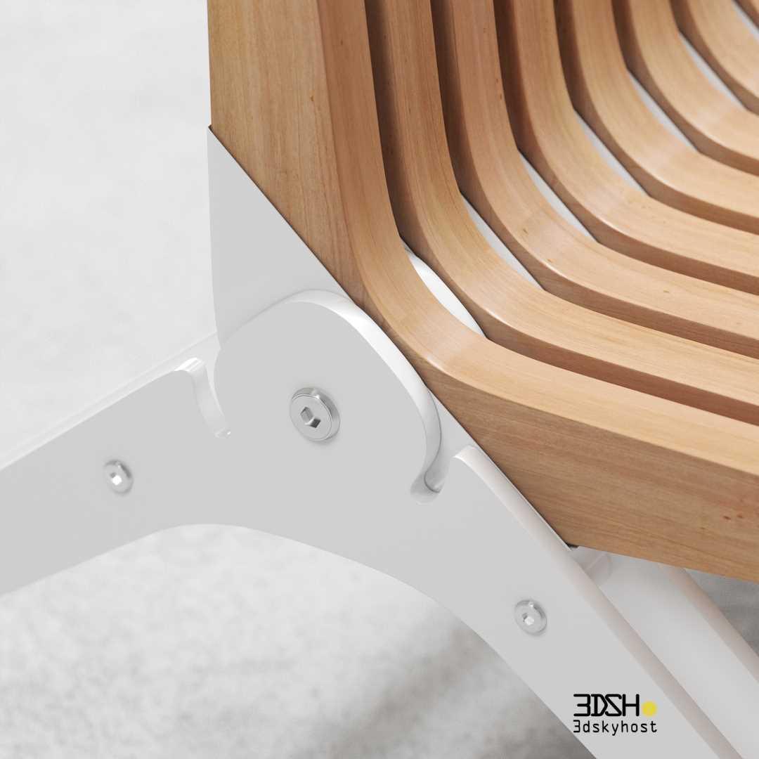 3d model Accoya Garden Furniture free download