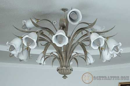 3dSkyHost: Free Model Lamp chandelier sforsa
