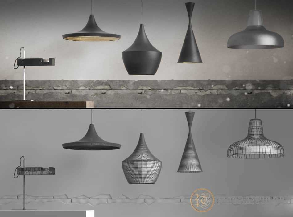 3dSkyHost: Free Lamps Modell Pack from XOIO