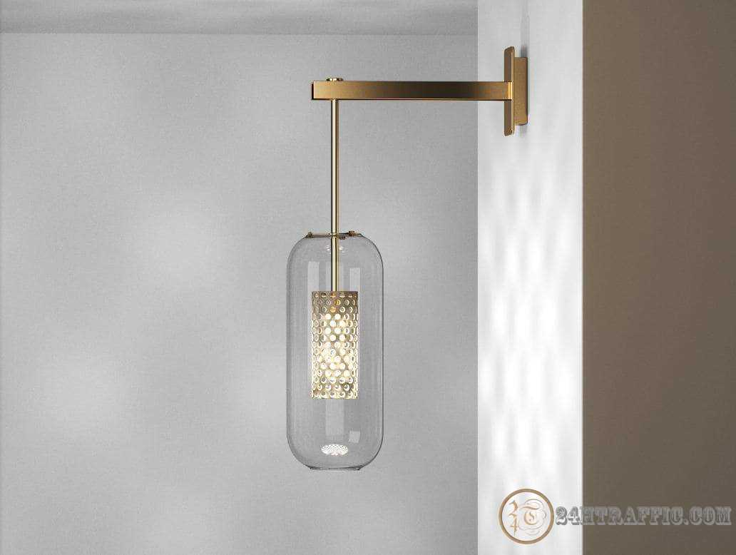 3dSkyHost: 3d model Vadim Wall Lamp from Design Connected