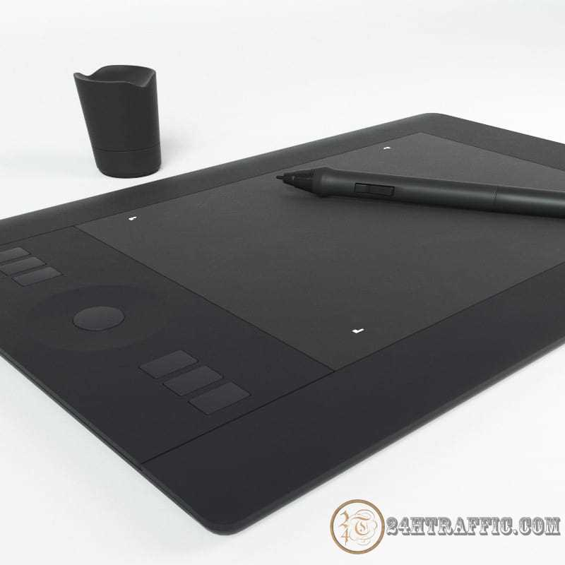 3dSkyHost: Wacom Intuos Pro Free Model from Andrey Mazyrov