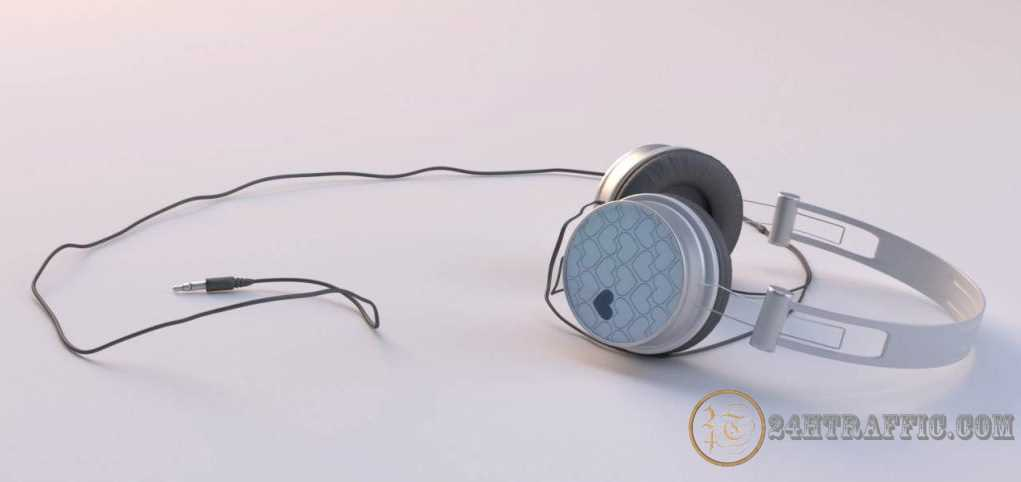 "3dSkyHost: Headphones Modeled For ""Amsterdamse Penthouse"" Scene (Blender Cycles)"