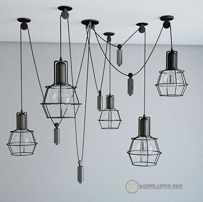 3dSkyHost: Ceiling Light 3D Model Free Dowload