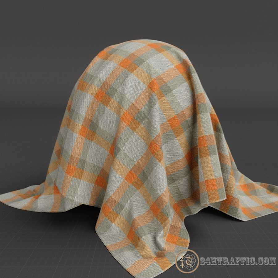 3dSkyHost: 3D Model Brushed Cotton Canvas free download