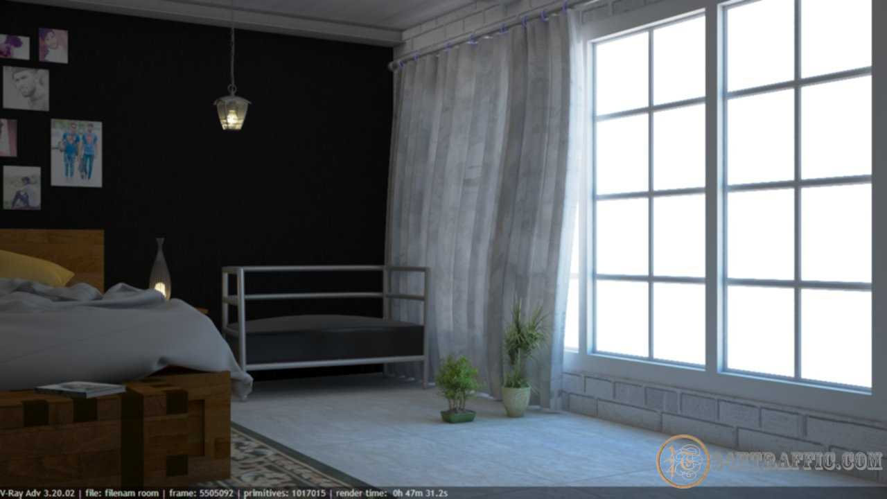 3dSkyHost: 3D Interior Scenes File 3dsmax Model Bedroom 46