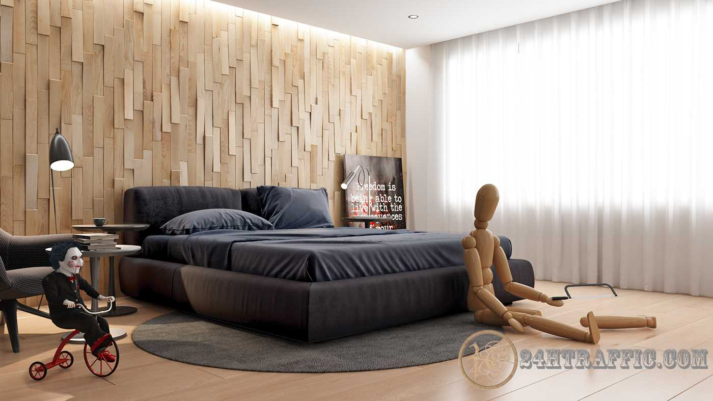 3dSkyHost: 3D Interior Scenes File 3dsmax Model Bedroom 02
