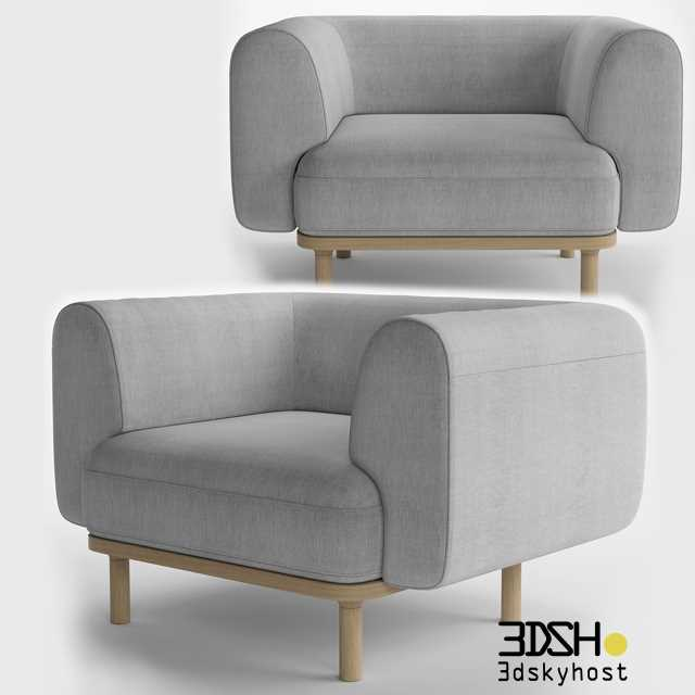 3dSkyHost: 3D Model Bolia_Abby Armchairs free download