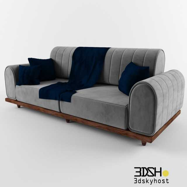 3dSkyHost: 3D Model Turkish sofa free download