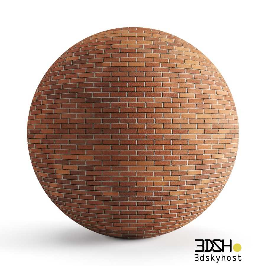 3dSkyHost: 3D Model Brick free download