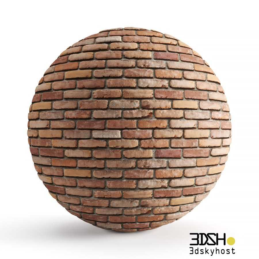 3dSkyHost: 3D Model Old Brick free download