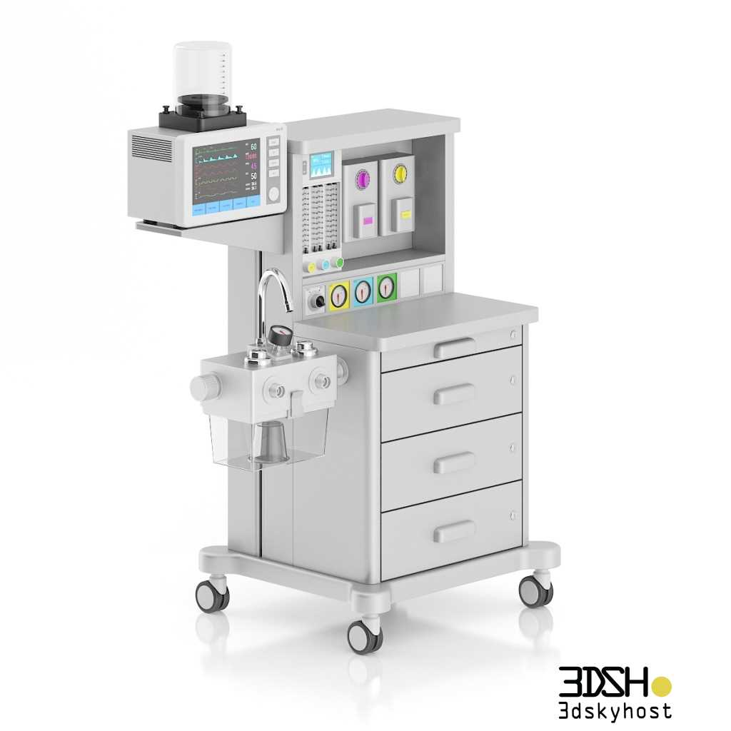 3dSkyHost: 3D Models Medical Equipment Free Download