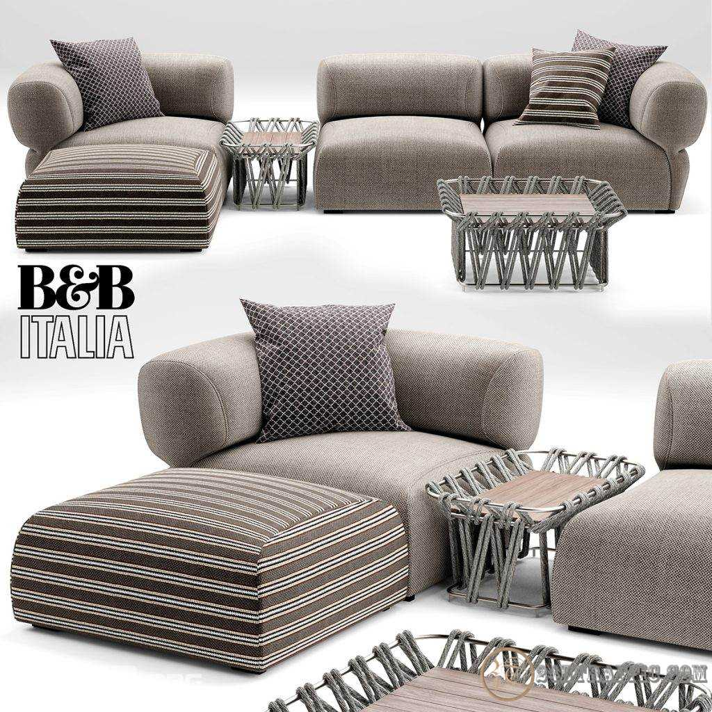 3dSkyHost: 3d model Sofa A free download